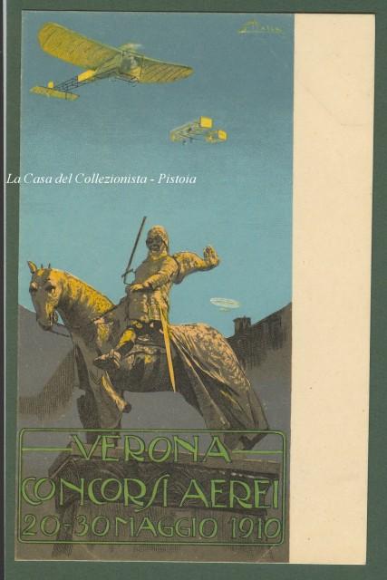 VERONA CONCORSI AEREI 20 - 30 MAGGIO 1910.