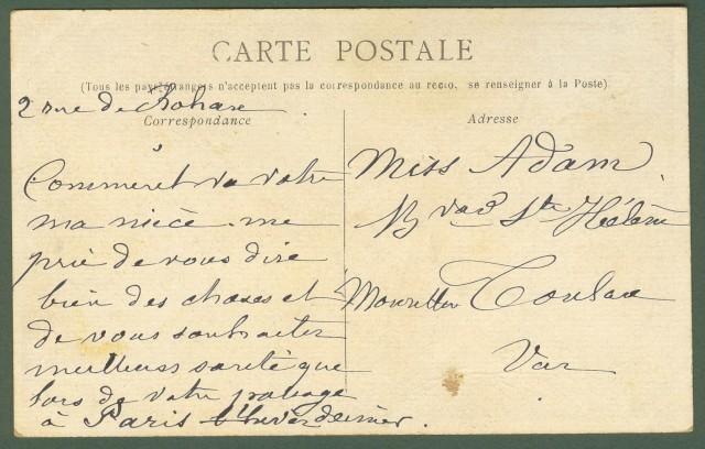Francia - France. Les petits mètiers parisiens. La Marchande de Coco et la Marchande de fleurs.