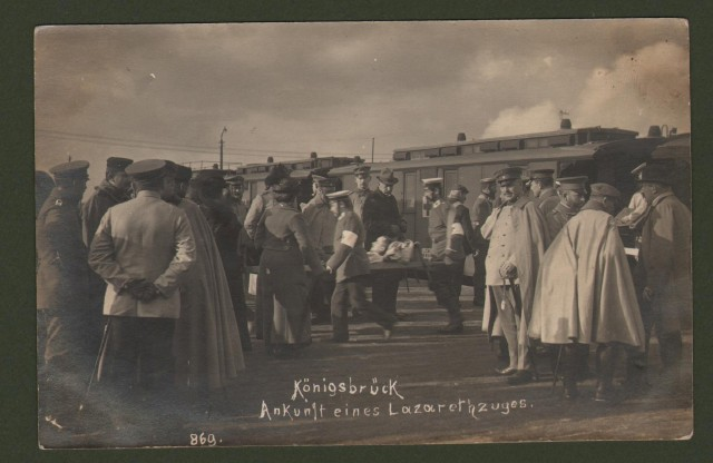 GERMANIA. Konigsbruck. Viaggiata 1914.