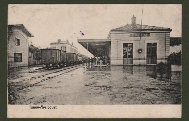 FRANCIA. Igney-Avricourt. Viaggiata 1916.