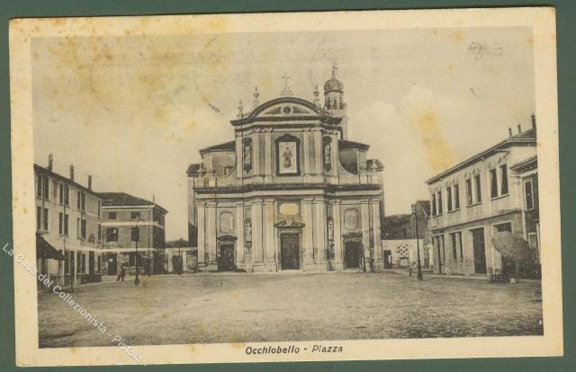 Veneto. OCCHIOBELLO (Rovigo). La piazza.