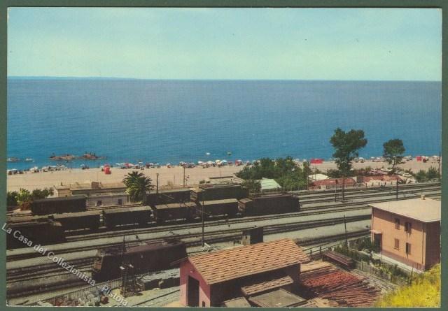 Calabria. PAOLA (Cosenza). La ferrovia.
