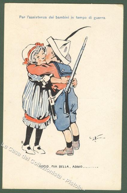 CRAFFONARA. Per l'assistenza ai bambini in tempo di guerra.