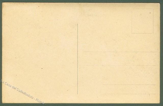 ABRUZZO. ALFEDENA (Aquila). Castello e ponte di fresche sul Sangro. Animazione in 1'° piano. Cartolina d'epoca, non viaggiata, inizio 1900
