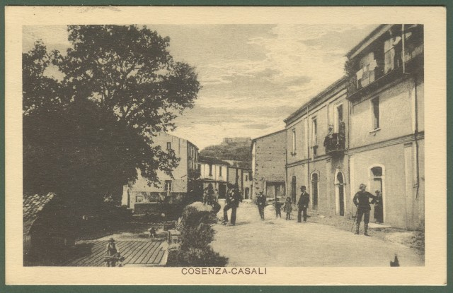 (Calabria) COSENZA - CASALI.