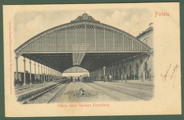 (Toscana) PISTOIA. Interno della Stazione Ferroviaria.