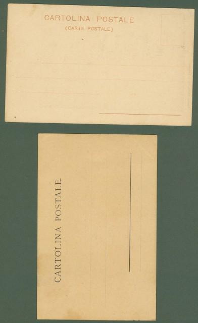 PALAZZOLO SULL'OGLIO. Due cartoline non viaggiate, inizio 1900