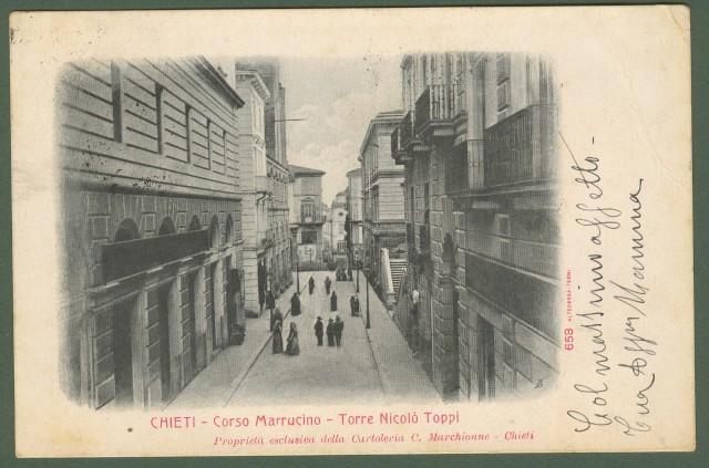CHIETI. Corso Marruccino.