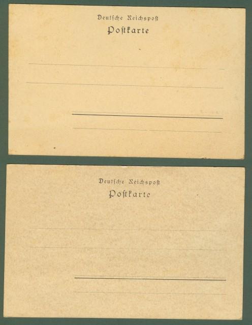 GERMANIA. Gruss aus Berlin. Due cartoline d'epoca inizio '900