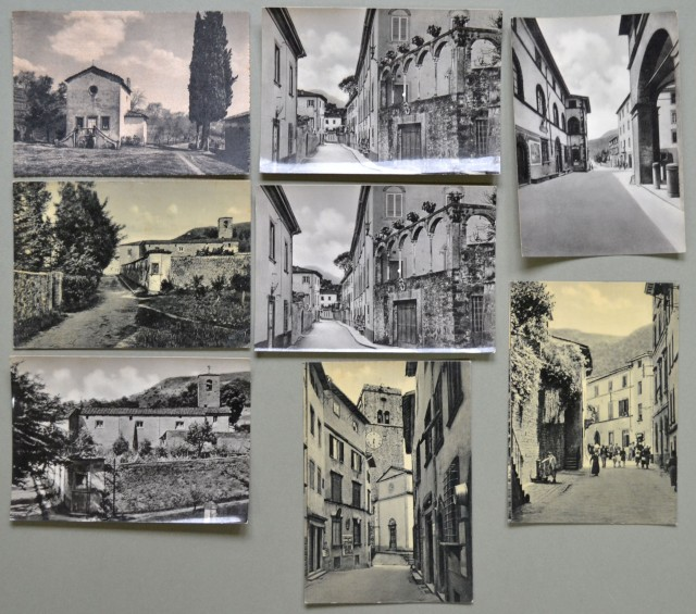 BORGO A MOZZANO. Lucca. 8 cartoline formato cm 15x10. Non viaggiate, anni 30/40.