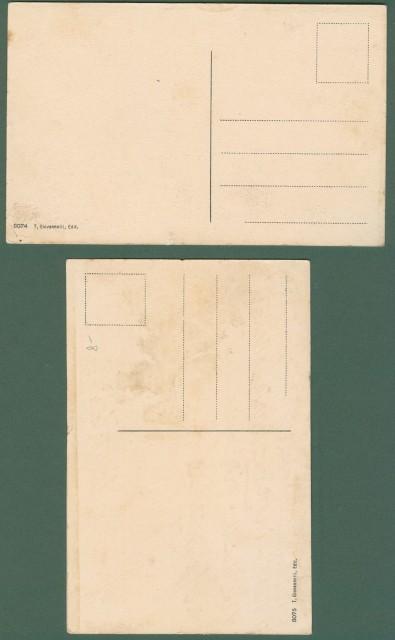 CASTELFIORENTINO (Fi). LA LOGGETTA. Due cartoline d'epoca non viaggiate, inizio '900