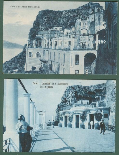 CAPRI, Campania. La Terrazza della Funicolare