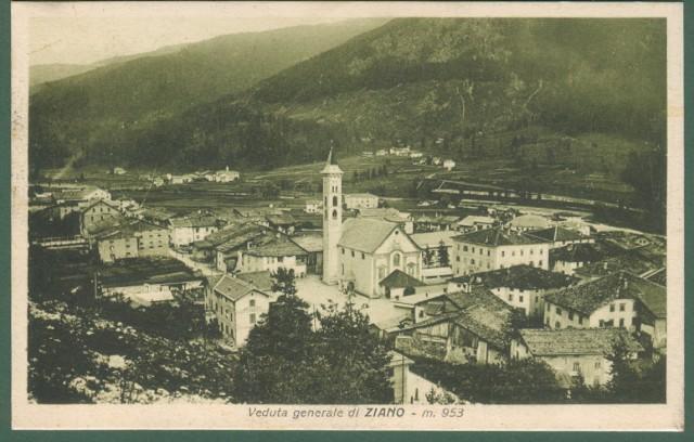 ZIANO, Trentino. Panorama