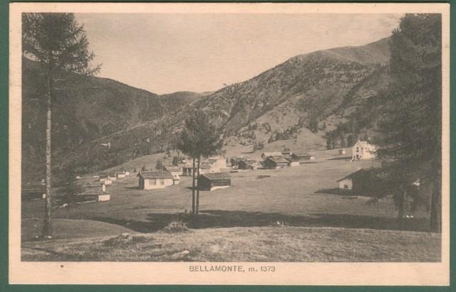 BELLAMONTE, Trento. Panorama