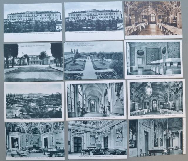 FIRENZE. Regio Istituto della SS. Annunziata. 12 cartoline non viaggiate, circa 1920.