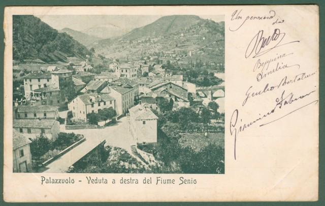 PALAZZUOLO, Forlì. Veduta a destra del fiume Senio.