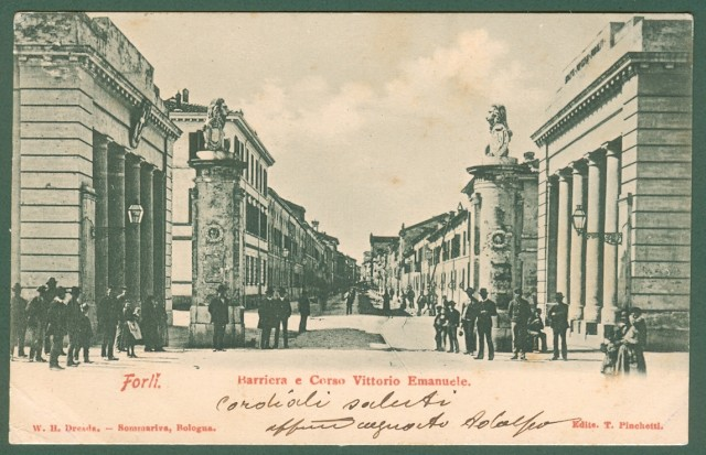 FORLI'. Barriera e Corso Vittorio Emanuele.