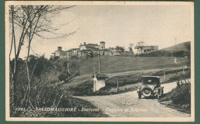 SALSOMAGGIORE dintorni, Piacenza. Castello di Scipione.