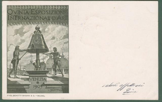 VENEZIA 1903. QUINTA ESPOSIZIONE INTERNAZIONALE D'ARTE.