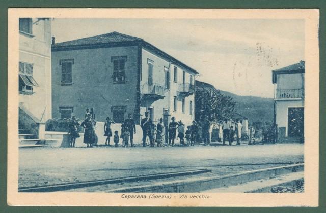 CEPARANA (Spezia). Via Vecchia.