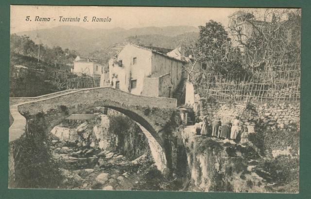 SAN REMO (Imperia). Torrente S. Romolo.