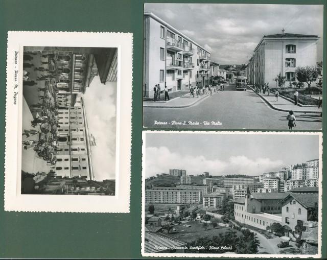 POTENZA. 3 interessanti cartoline.
