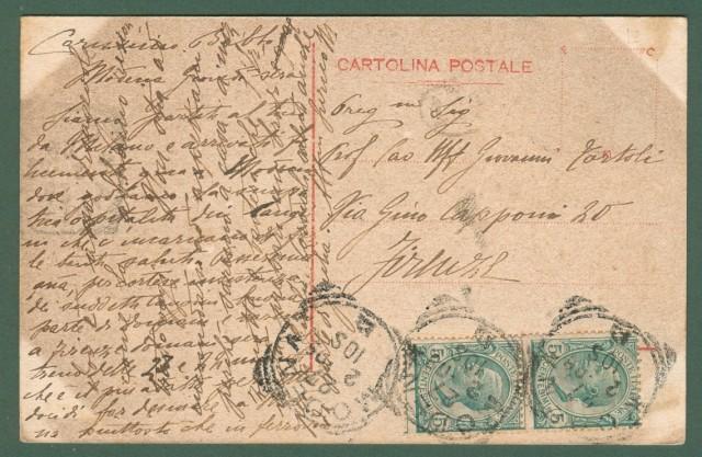 Emilia Romagna. MODENA. Barriera Vittorio Emanuele. Cartolina d'epoca viaggiata nel 1909.
