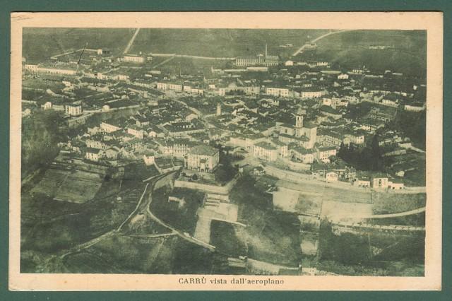 Piemonte. CARRU', Cuneo. Veduta dall'aereo.