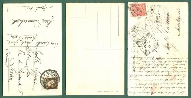 Piemonte. MONDOVI', Cuneo. 3 cartoline d'epoca