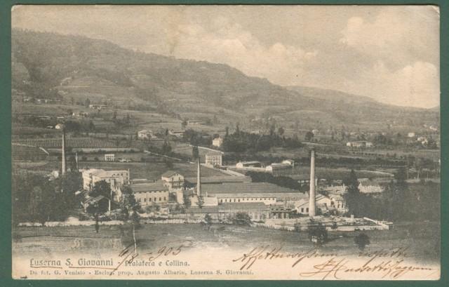 Piemonte. LUSERNA S. GIOVANNI. Pralafera e Collina