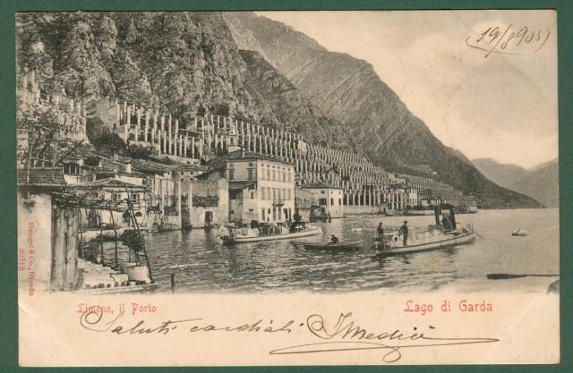 Lombardia, Brescia, lago di Garda. Il porto.
