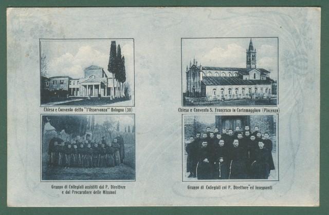 Emilia Romagna. EMILIA, Piacenza, Bologna. Unione Missionaria Francescana nell'Emilia.