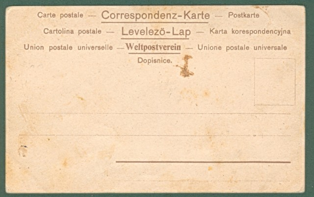 BALLERIO. Nascita principe Umberto 1904. Cartolina d'epoca non viaggiata