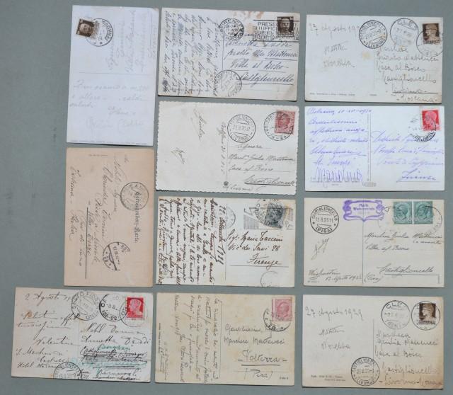 Trentino. BOLZANO E PROVINCIA. Insieme di 10 cartoline d'epoca viaggiata tra il 1912 e il 1931.