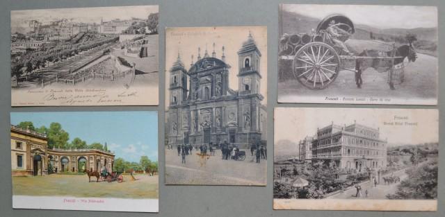 Lazio. FRASCATI, Roma. Cinque cartoline d'epoca