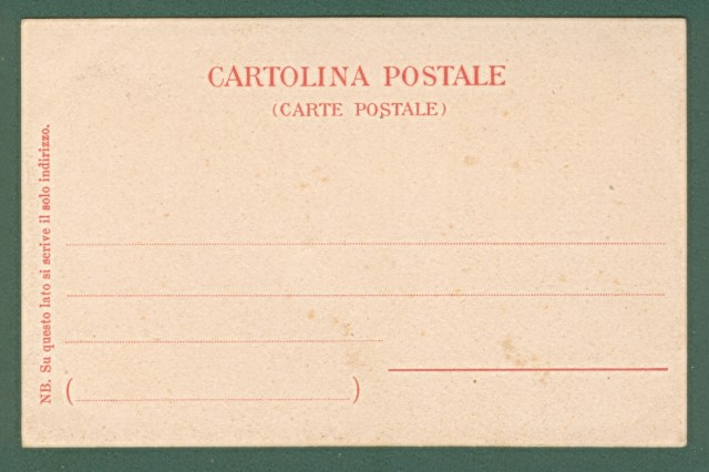 BERTELLI P. PANTALEONE - VENEZIA. Cartolina d'epoca inizio '900, non viaggiata