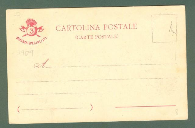 BRIGATA SPECIALISTI. 3'° REGG. GENIO. Cartolina d'epoca non viaggiata, inizio 1900.