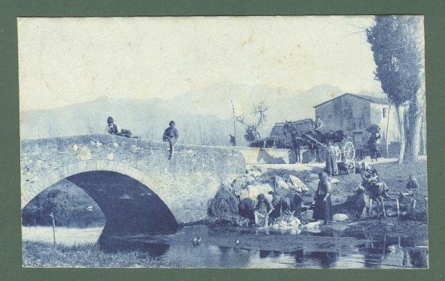 Friuli Venezia - Giulia. SAN GIORGIO DI NOGARO, Udine. Splendida animazione. Cartolina d'epoca viaggiata nel 1916.