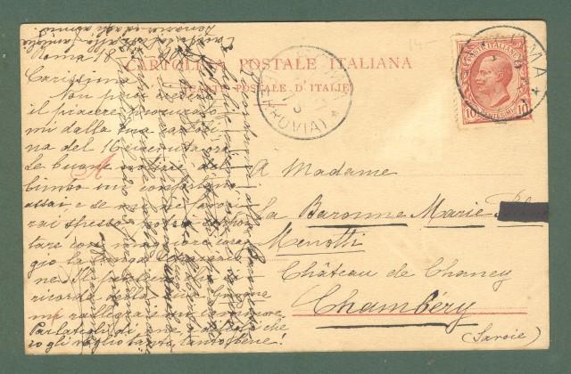 Lombardia. BORGOVICO, Como. Villa Crespi. Cartolina d'epoca viaggiata nel 1907.