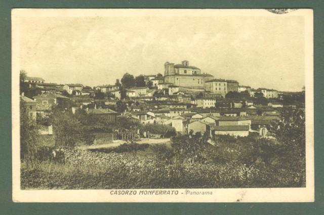 Piemonte. CONSORZIO MONFERRATO, Alessandria. Cartolina d'epoca viaggiata nel 1930.