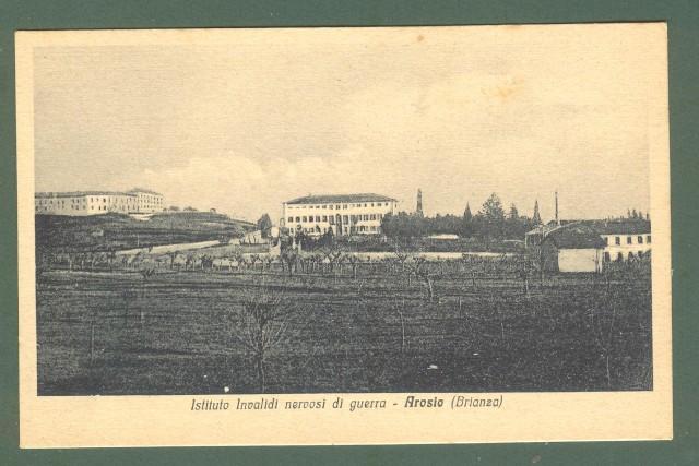 Lombardia. AROSIO, Como. Istituto invalidi nervosi di guerra. Cartolina d'epoca non viaggiata, circa 1930.