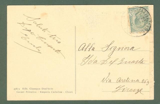 Abruzzo. CHIETI. Seminario Regionale. Cartolina d'epoca viaggiata nel 1916