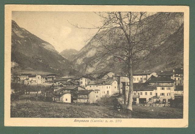 Veneto. AMPEZZO (Belluno). Cartolina d'epoca viaggiata nel 1932.