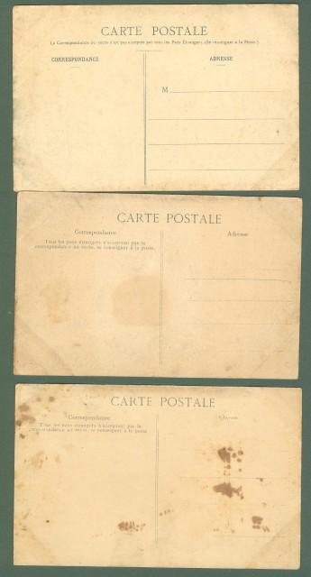 SENEGAL. Africa occidentale. Tre cartoline d'epoca non viaggiate, circa 1910.