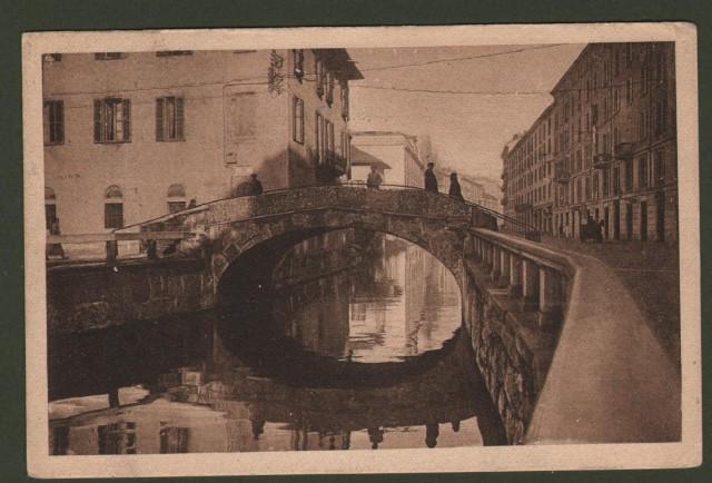 Lombardia. MILANO. Ponte S. Marco.