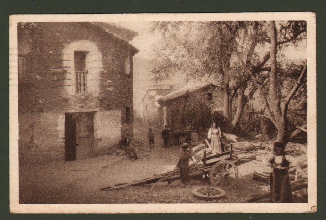 Sardegna. ARITZO, Nuoro. Mattino ad Aritzo.