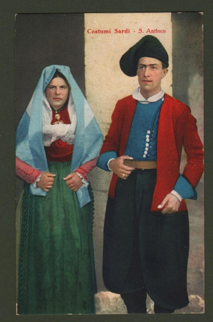 Sardegna. S. ANTIOCO, Iglesias. Costumi.