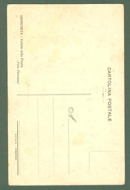 Toscana. IMPRUNETA, Firenze. Veduta della Pineta. Cartolina d'epoca non viaggiata, circa 1910