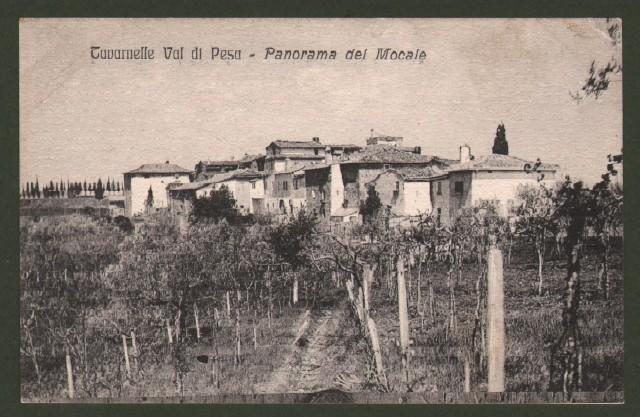 Toscana. TAVARNELLE VAL DI PESA (Firenze). Panorama del Mocale.