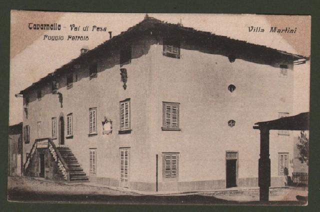 Toscana. TAVARNELLE VAL DI PESA, Firenze. Poggio Petroio, Villa Martini.